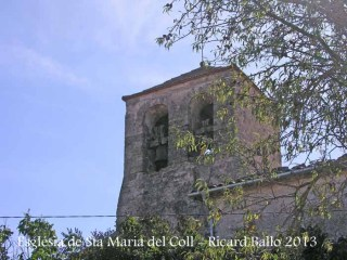 Església de Santa Maria del Coll – Talavera - Campanar.