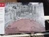 Amfiteatre de Tarragona - Amb color vermellós restes de la primitiva Basílica visigòtica