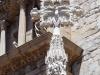 Església de Santa Maria la Major – Montblanc - Creu - És de destacar la delicadesa de les figures. En les fotos següents encara s'aprecia amb més detall aquesta qualitat