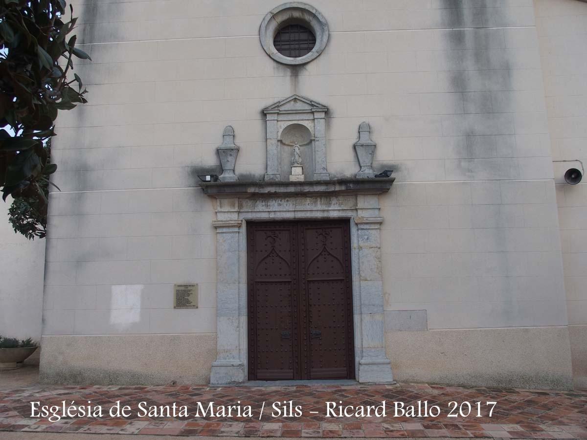 Església de Santa Maria – Sils
