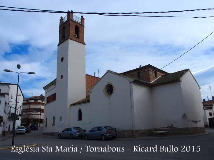 Església de Santa Maria – Tornabous