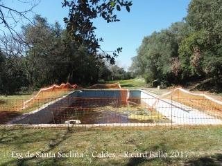 Església de Santa Seclina – Caldes de Malavella - Zona exterior