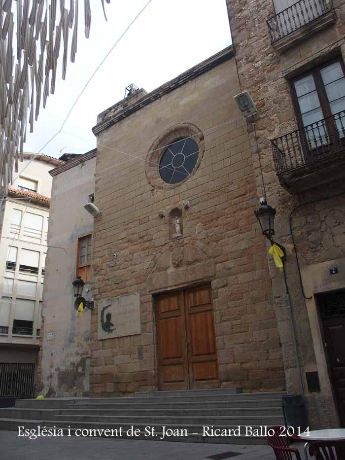 Església i convent de Sant Joan de Berga
