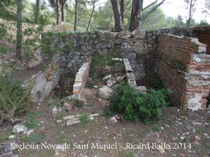 Església Nova de Sant Miquel – El Montmell - Nínxols