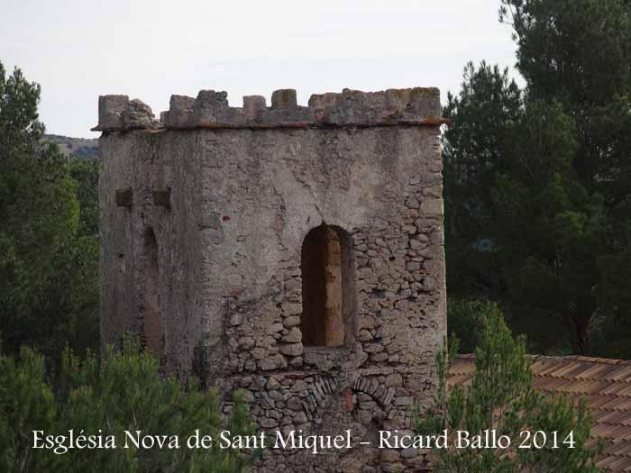 Església Nova de Sant Miquel – El Montmell - Campanar