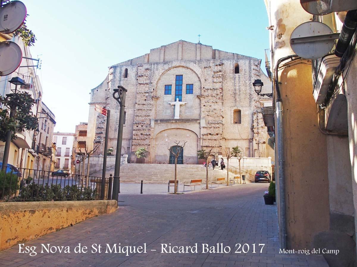 Església NOVA de Sant Miquel – Mont-roig del Camp