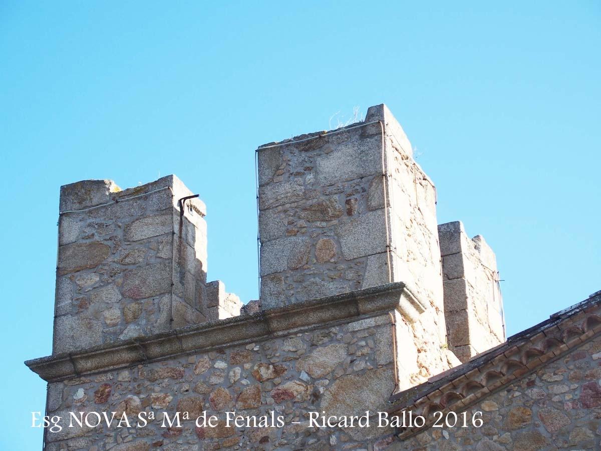 Església NOVA de Santa Maria de Fenals – Castell-Platja d'Aro