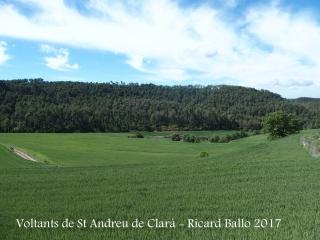 Església parroquial de Sant Andreu de Clarà – Castellar de la Ribera / Entorn