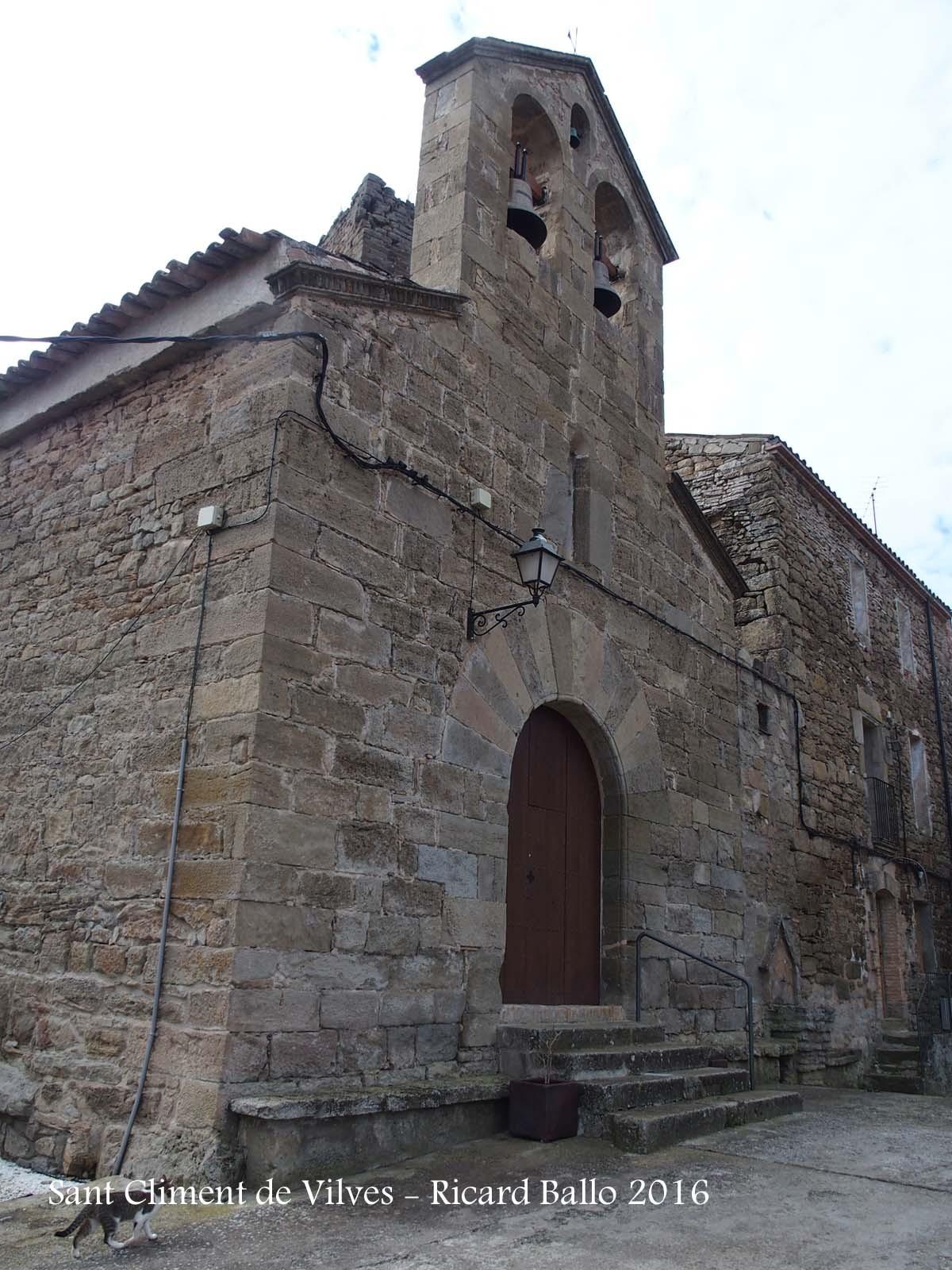 Església parroquial de Sant Climent de Vilves – Artesa de Segre