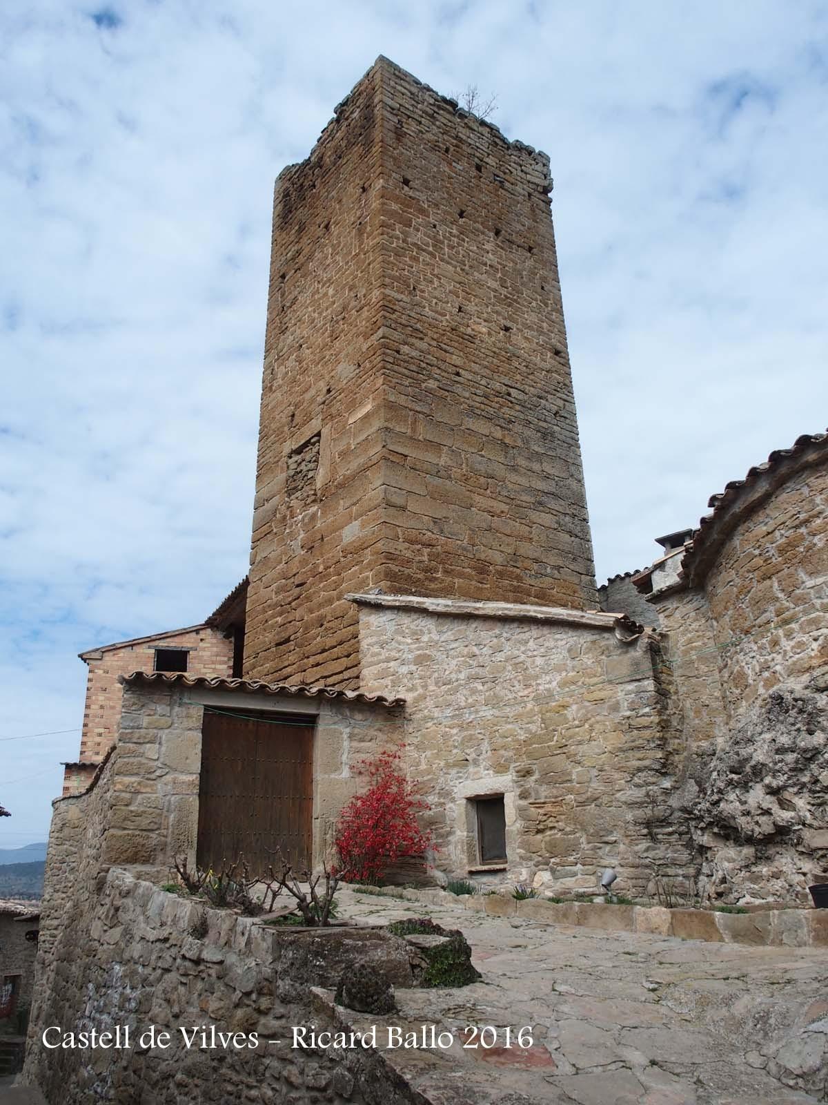 Castell de Vilves