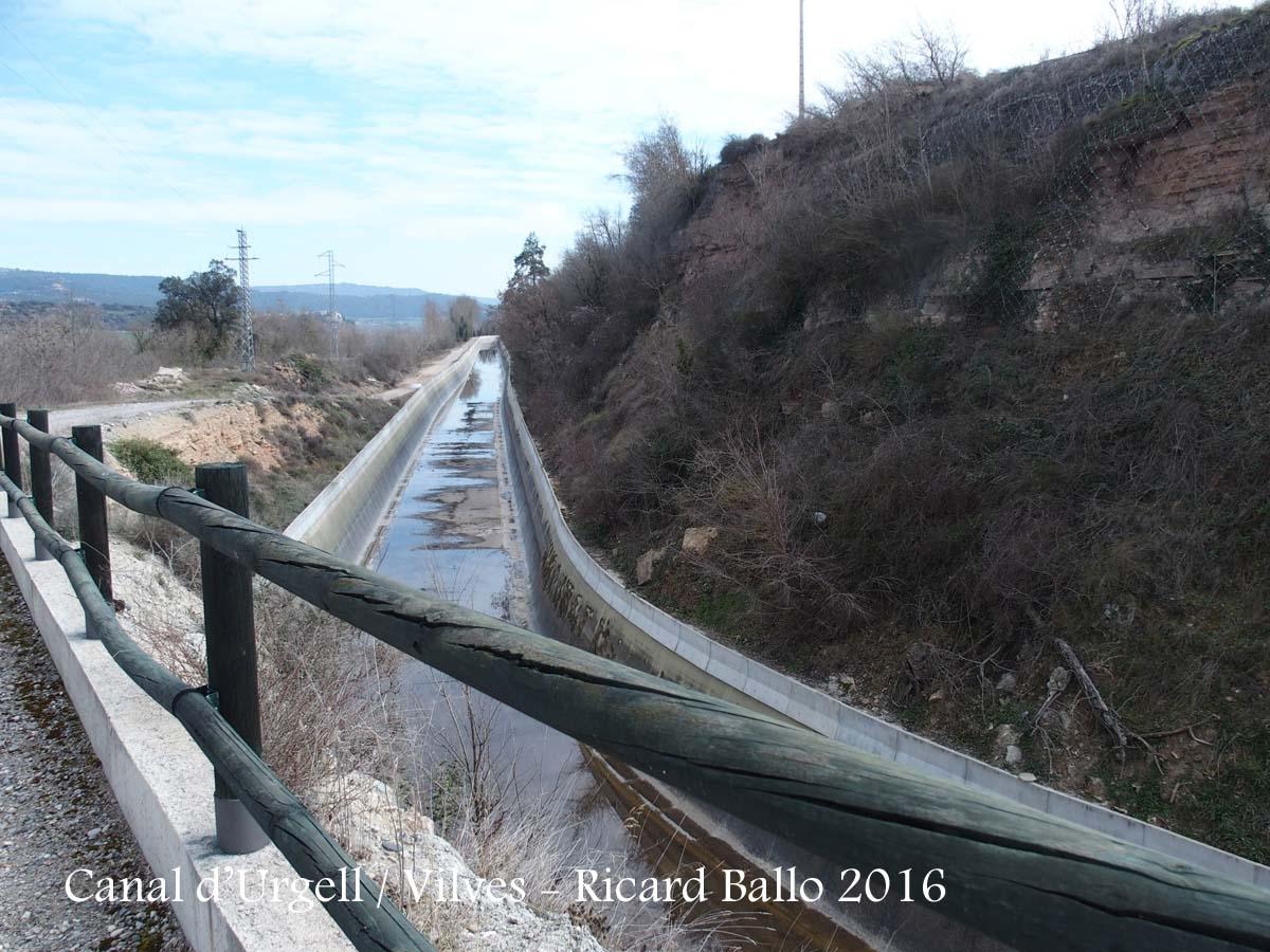 Vilves – Canal d'Urgell