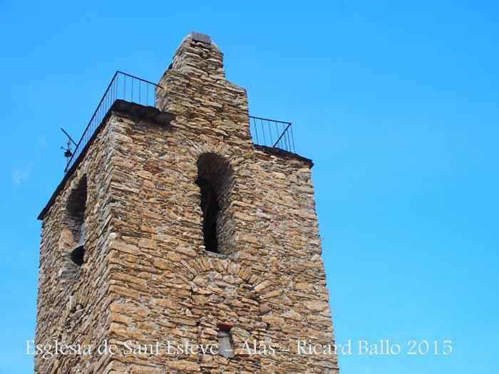 Església parroquial de Sant Esteve – Alàs i Cerc