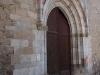 Església parroquial de Sant Esteve – Bagà - Porta gòtica.