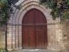 Església parroquial de Sant Esteve – Bagà - Portal de tramontana.