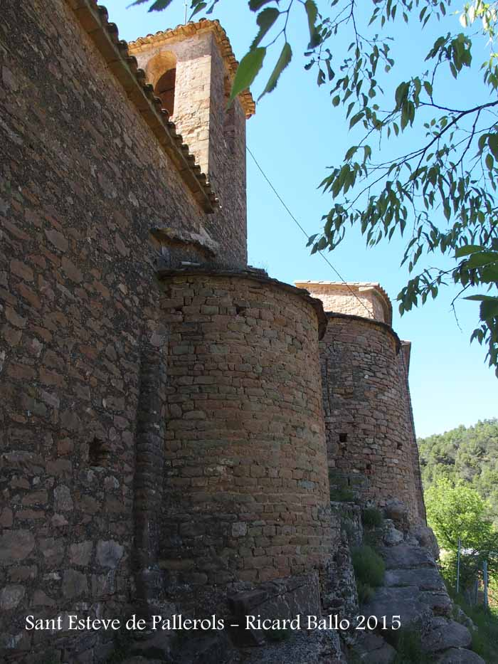 Església parroquial de Sant Esteve de Pallerols de Rialb – Baronia de Rialb - Absis
