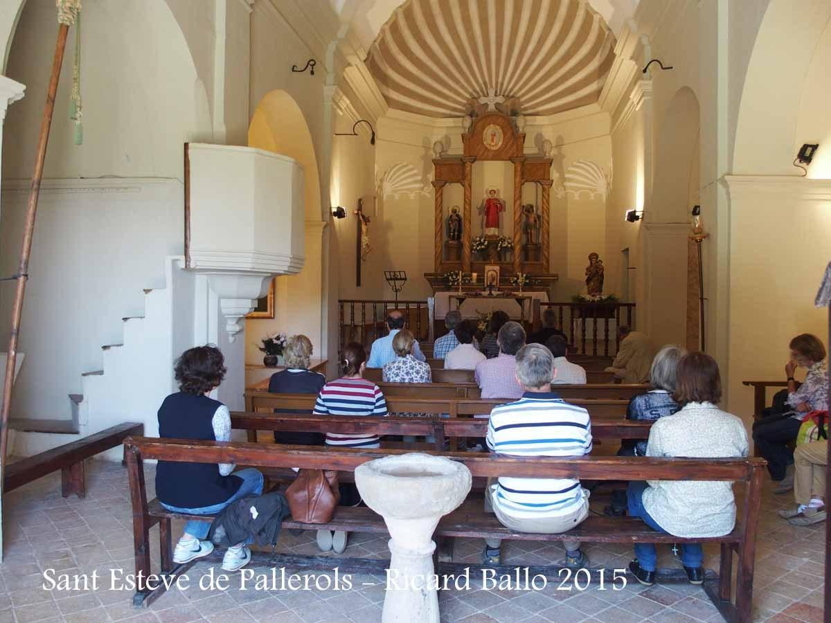 Església parroquial de Sant Esteve de Pallerols de Rialb – Baronia de Rialb