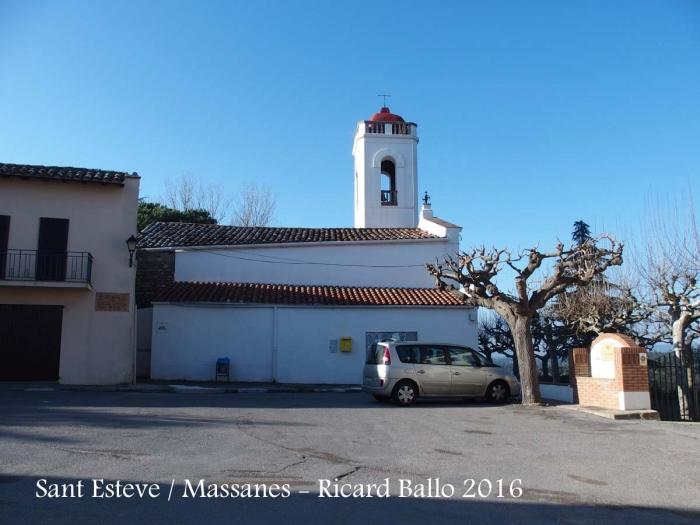 Església parroquial de Sant Esteve – Massanes