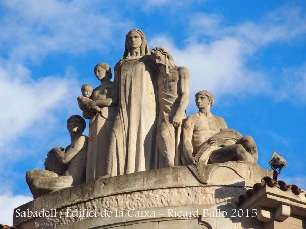 Sabadell - Edifici de la Caixa de Pensions