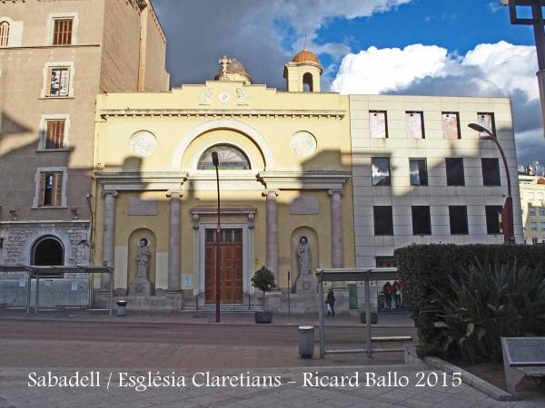 Sabadell - Església dels Pares Claretians
