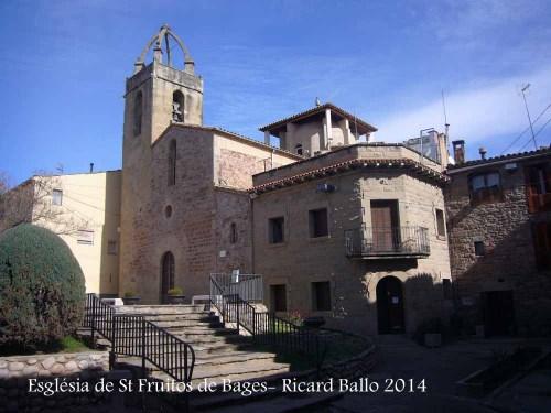 Església parroquial de Sant Fruitós de Bages