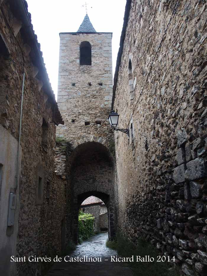 Església parroquial de Sant Girvès de Castellnou de Carcolze