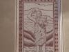 Església parroquial de Sant Hilari – Sant Hilari de Sacalm - Un dels esgrafiats de la façana