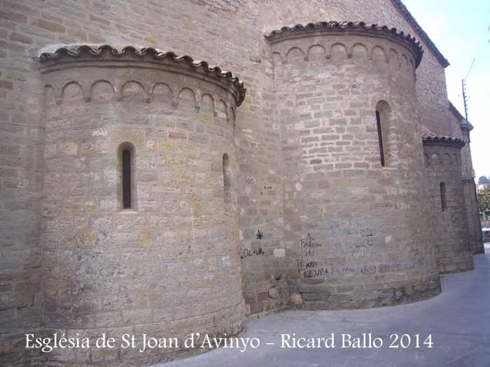Església parroquial de Sant Joan d'Avinyó – Avinyó