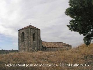 Església parroquial de Sant Joan – Montornès de Segarra