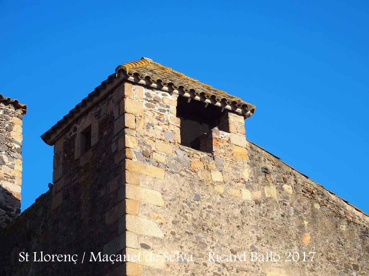 Església parroquial de Sant Llorenç – Maçanet de la Selva / Comunidor
