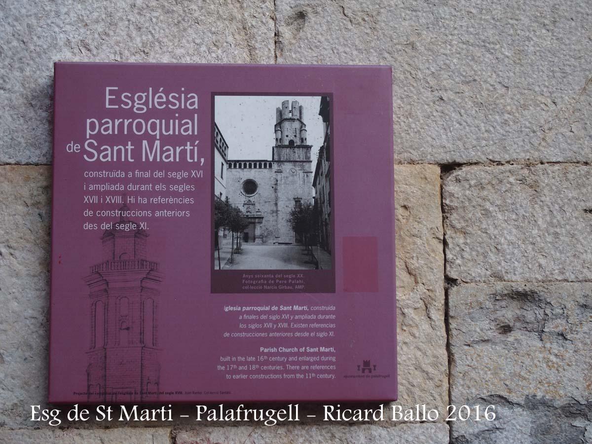 Església parroquial de Sant Martí – Palafrugell