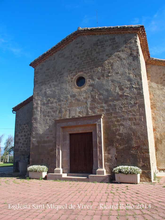 Església parroquial de Sant Miquel de Viver – Viver i Serrateix