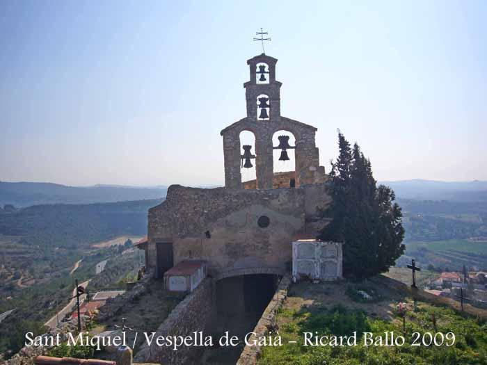 Església parroquial de Sant Miquel – Vespella de GaiàEsglésia parroquial de Sant Miquel – Vespella de Gaià