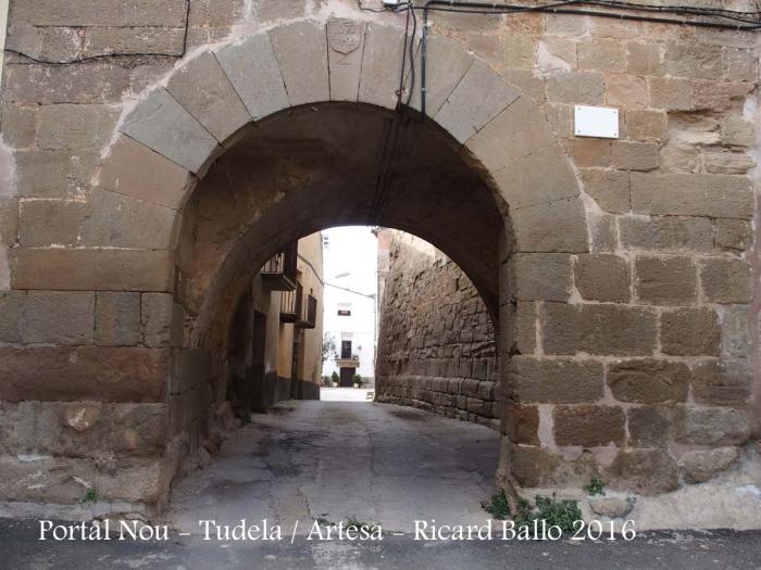 Tudela de Segre - Portal Nou