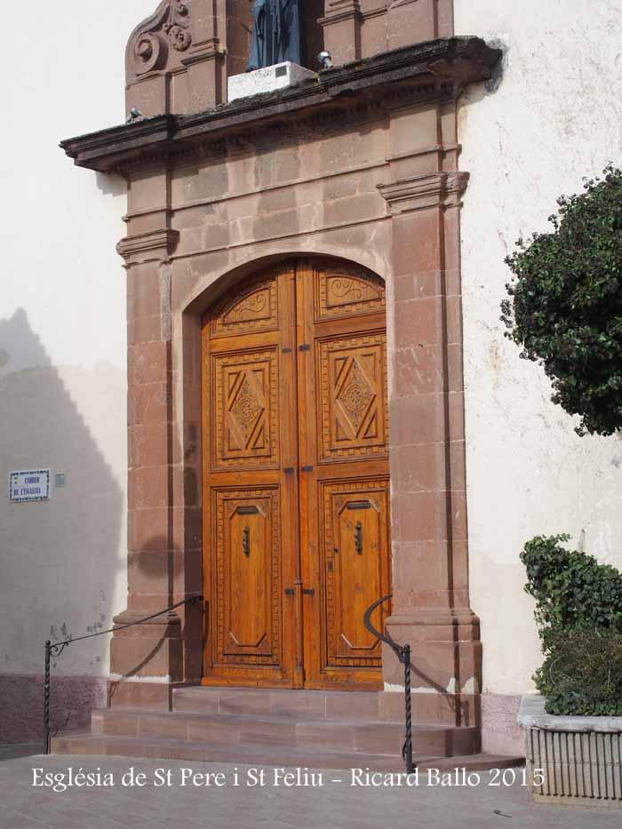 Església parroquial de Sant Pere i Sant Feliu – Vacarisses