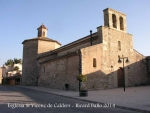Església parroquial de Sant Vicenç de Calders – Calders