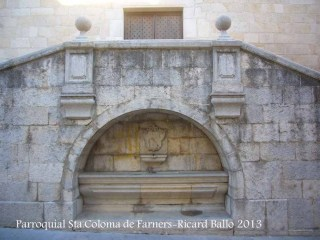 Església parroquial de Santa Coloma de Farners – Santa Coloma de Farners