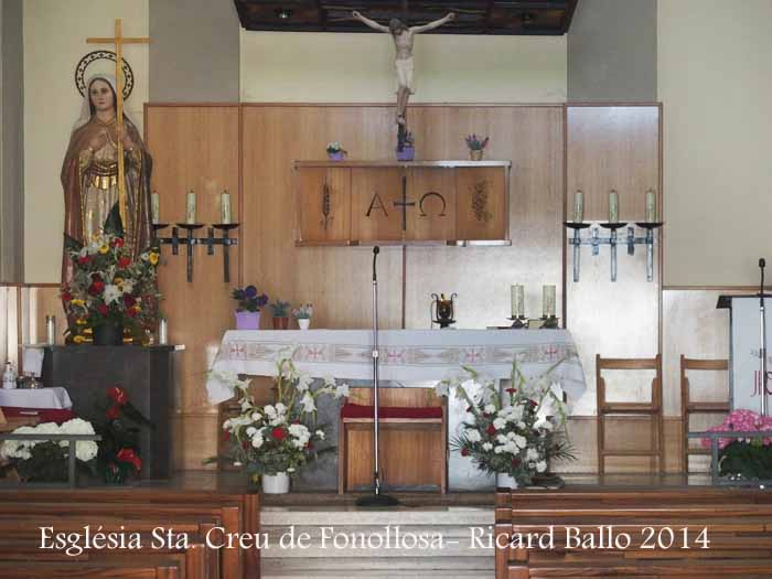 Església parroquial de Santa Creu de Fonollosa - Bages