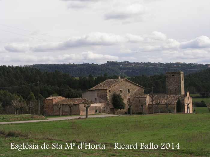 Església parroquial de Santa Maria – Horta d'Avinyó