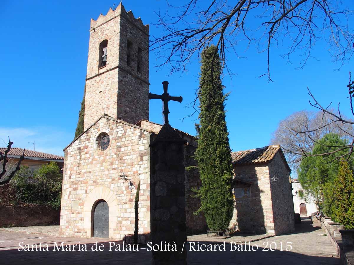 Esgl sia parroquial de santa maria palau solit i - Inmobiliaria palau de plegamans ...
