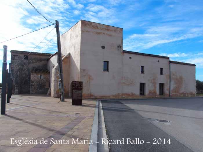 Església parroquial de Santa Maria – Santa Oliva