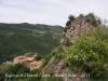 Vistes de Cava des del castell de Cava