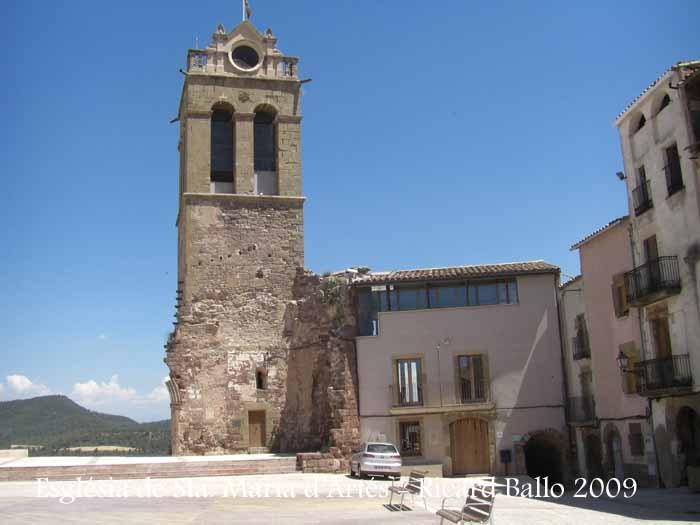 Església romànica de Santa Maria d'Artés