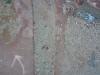 Església de Santa Maria de Cervelló - Tombes antropomorfes - 2 - Situades a tocar de la paret de l\'església. Aquestes passen més desapercebudes.