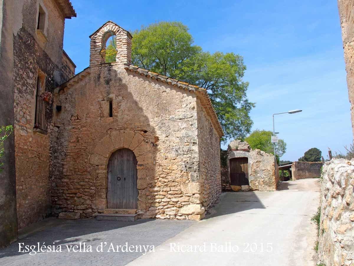 Església vella d'Ardenya – Tarragona