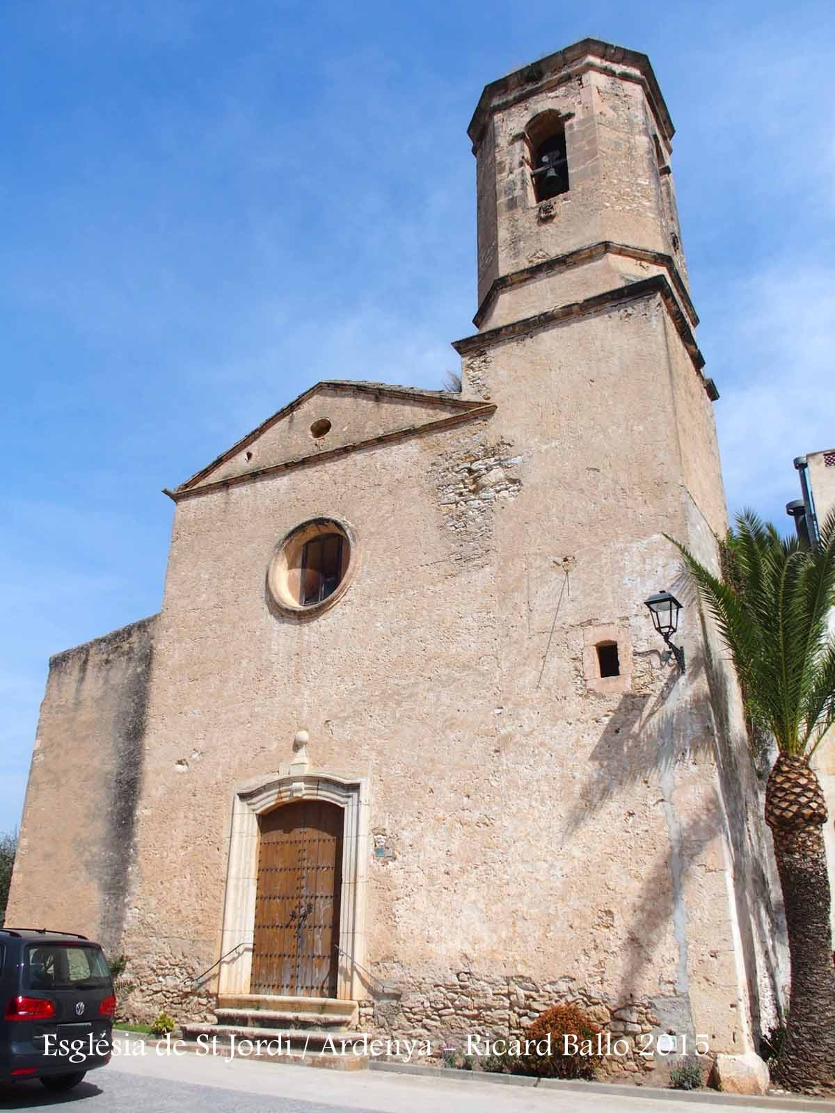 """L'Església """"nova"""" d'Ardenya – Sant Jordi d'Ardenya - Tarragona"""