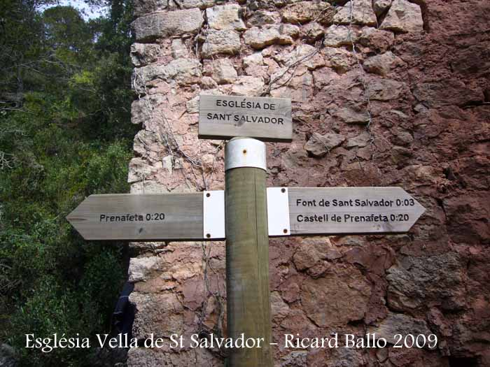 Església Vella de Sant Salvador de Prenafeta – Montblanc