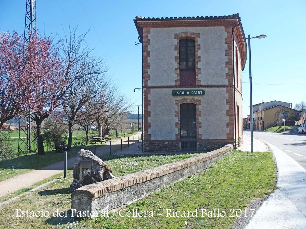 Estació del Pasteral - La Cellera de Ter