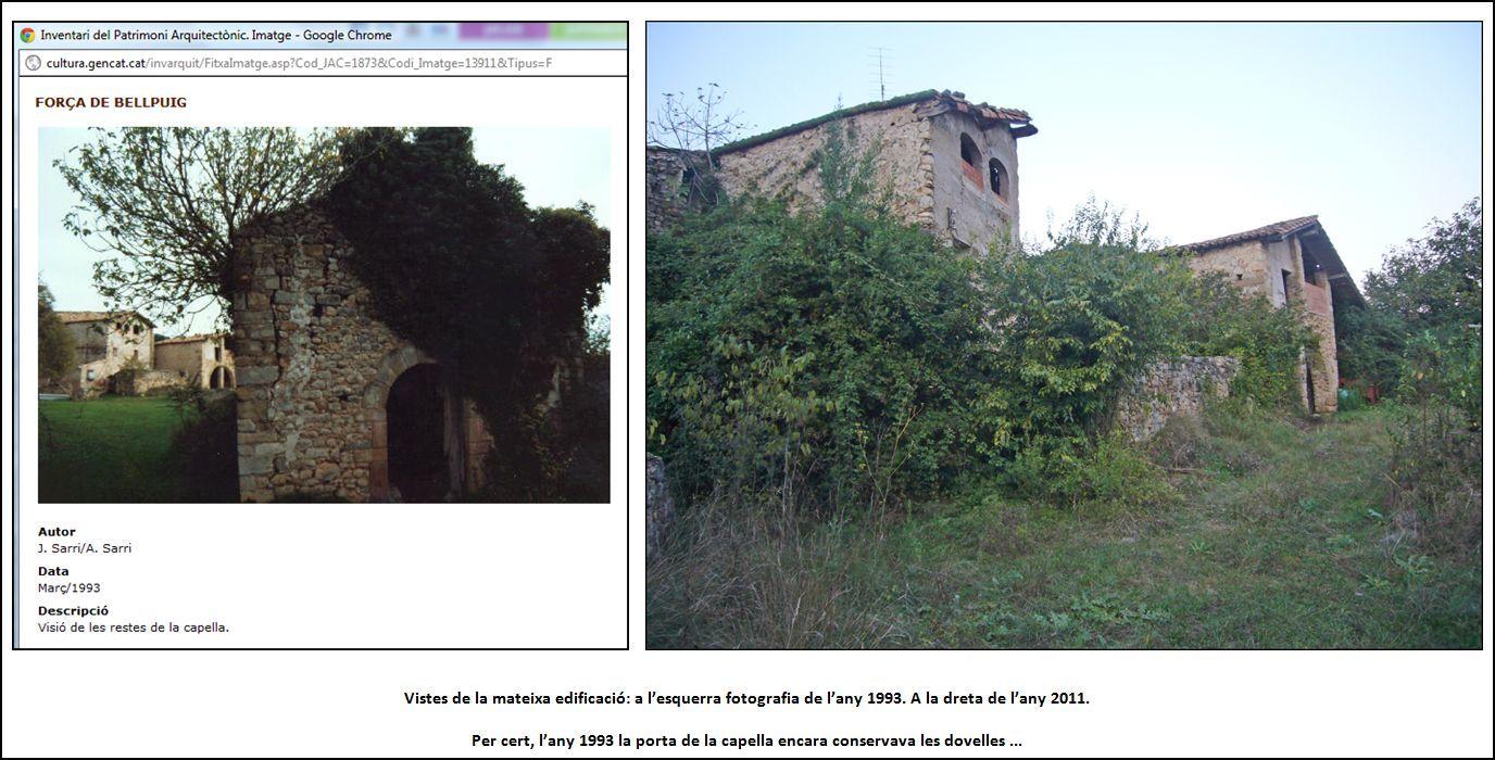 forca-de-bellpuig-tortella-110922-comparacio-foto-patrimoni-gencat-any-1993-amb-actual-2011