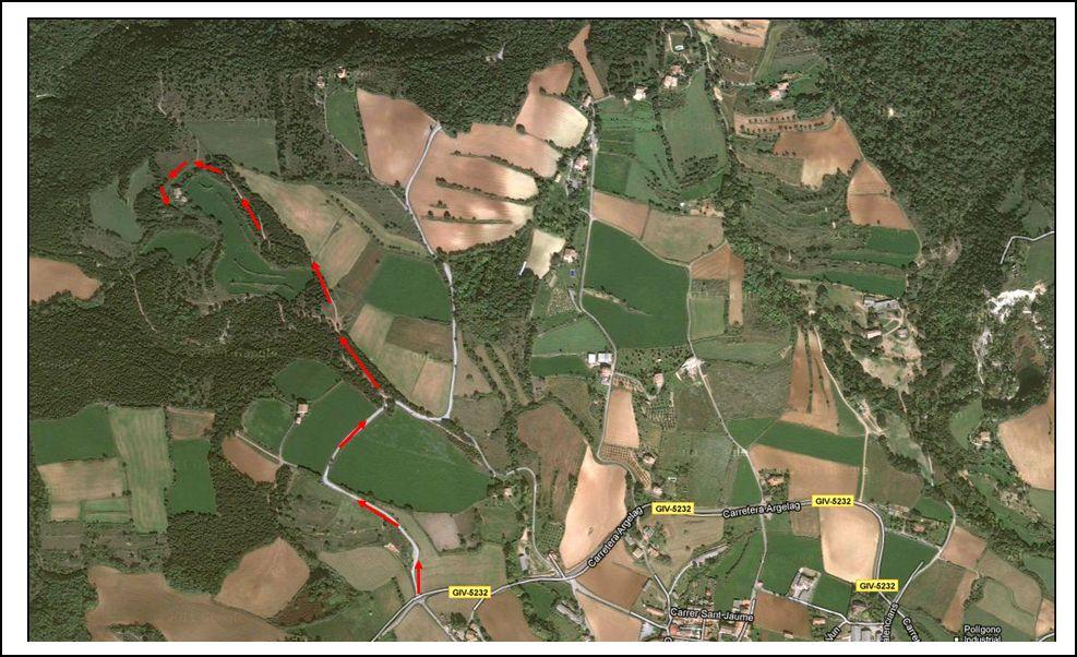 tortella-forca-de-bellpuig-google-maps-dades-generals-itinerari