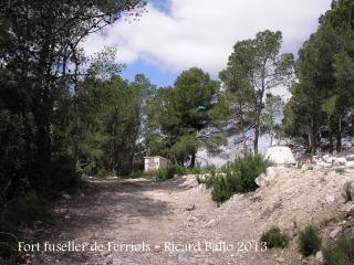 Fort fuseller de Ferriols - Itinerari.